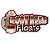 ROOT BEER FLOATS Concession Decal stand trailer cart