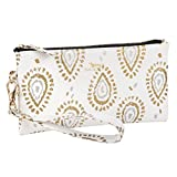 SCOUT Faux Leather Kate Wristlet, Shrimp and Glitz