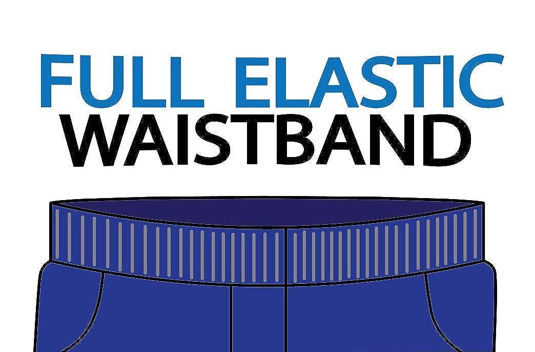 unik Boys All Elastic Waist Pull up Shorts Navy Khaki Black SBU32-P