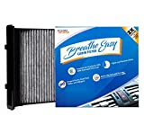 Spearhead Premium Breathe Easy Cabin Filter, Up to 25% Longer Life w/Activated Carbon (BE-930): more info