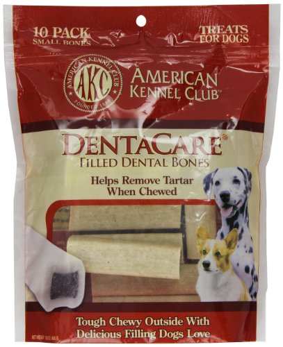 American Kennel Club 10 Count Filled Bone DentaCare Dog Trea