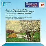 Brahms: Piano Concerto No. 1 / Schumann: Introduction & Allegro / Mendelson: Capriccio Brillant (Essential Classics)