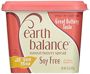 Earth Balance, Soy Free Buttery Spread, 15 oz