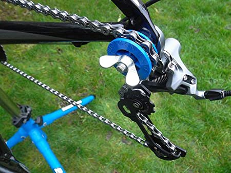 Amazon.com: Morgan Azul Cadena para bicicleta Keeper: Sports ...
