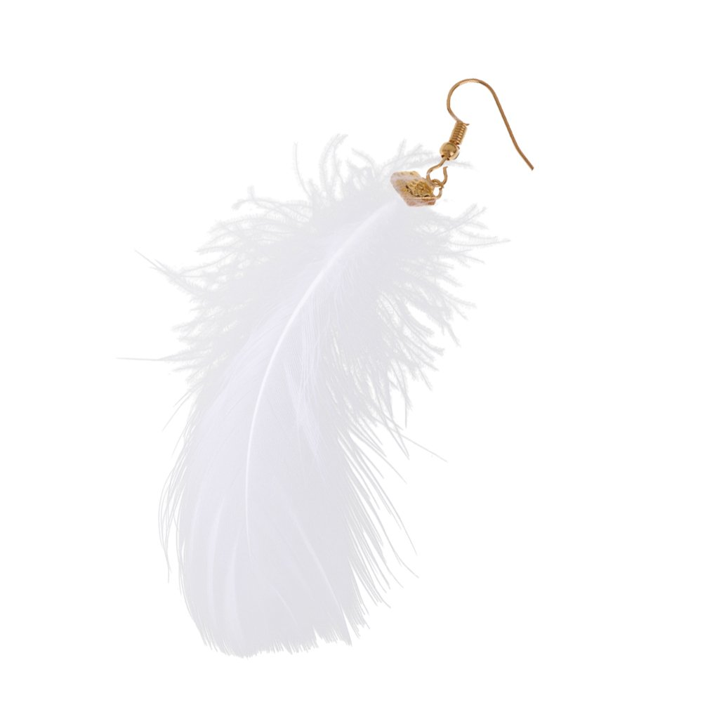 MagiDeal V/êtement de Poup/ée Accessoire Boucle dOreille de Plume D/écoration pour 12 Poup/ée Blythe Doll Azone Licca Pullip