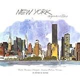 New York aquarelles
