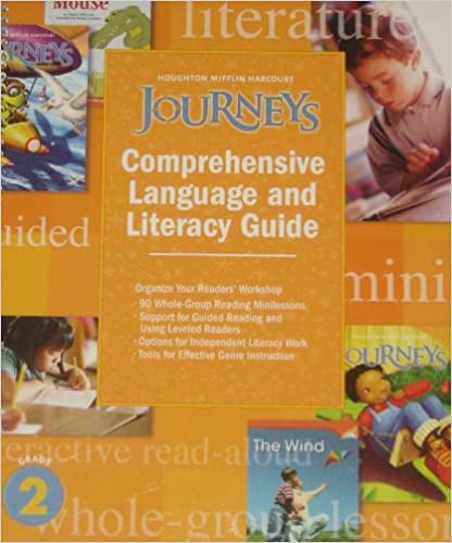 Amazon com: Journeys: Comprehensive Language and Literacy Guide