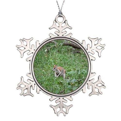 Silently Australian Animal Christmas Tree Decoration Outback Australia Halloween Tree Snowflake Ornaments -