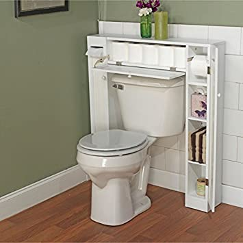 Compact Storage Cabinet Small Slim Space Saver Kitchen Bathroom Toilet Furniture