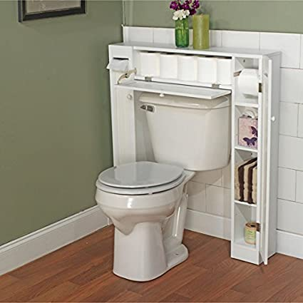 Superbe Over The Toilet Space Saver By Simple Living. 1 Center Cabinet And 2 Side  Cabinets