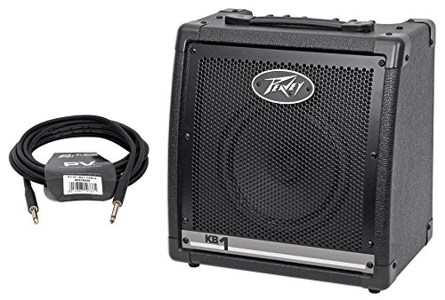 Peavey KB 1 20 Watt Keyboard Amplifier 2-Channel Combo Amp w/8'' Speaker + Cable by Peavey