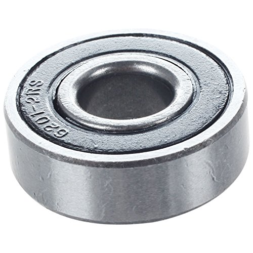 SODIAL(R) Ball bearing Bearing type: 6201 (12x32x10 mm) Cover: 2RS Quantity per pack: 1 PCS by SODIAL(R) (Image #3)