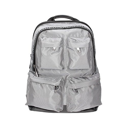 Bikkembergs Tu Dark Backpack Grey Synthetic Men D0603 rx8qA7r