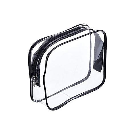 Anjuley - 3 Bolsas de cosméticos de PVC para organizar ...