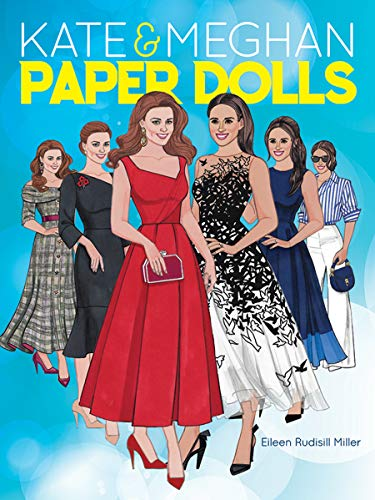 Kate and Meghan Paper Dolls (Dover Paper Dolls) ()