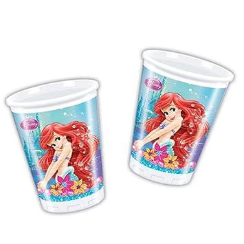 Disney Princess - Cubertería para fiestas La Sirenita (Procos 71522): Amazon.es: Juguetes y juegos