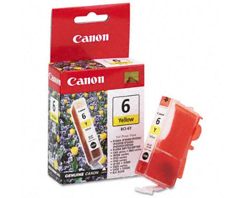 Canon BCI-6 Ink Cartridge OEM Yellow - 370 Pages (4708A003)