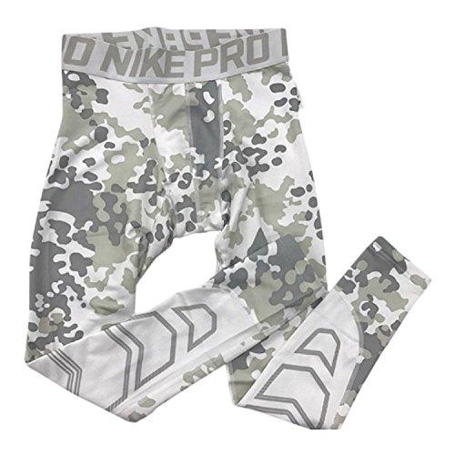 Nike Pro Hyperwarm Compression Ambush Men's Tights (M, Wh...