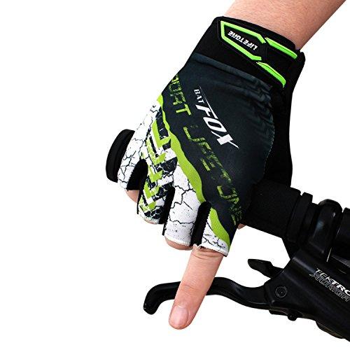 言い換えると突き出す名詞[drean dream world] サイクルグローブ 自転車用手袋 サイクルウェア 立体 ハーフフィンガー 快適 グローブ アウトドア 半指 手袋 通気性 耐久性