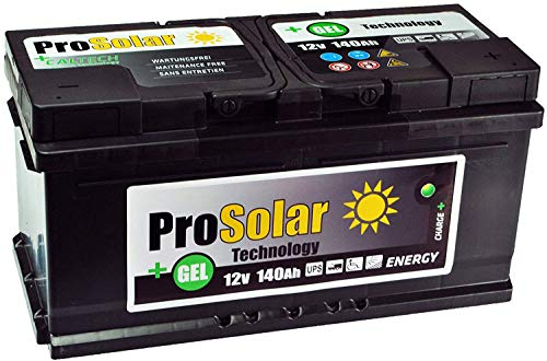 5131JM8h0tL 140Ah Gelbatterie Solarbatterie Versorgungsbatterie Verbraucherbatterie 12V