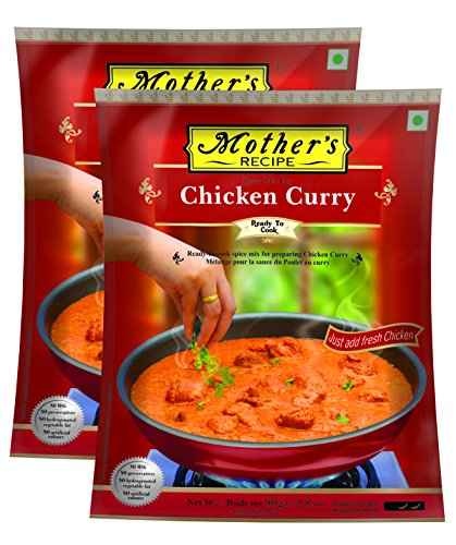 Mothers recipe chicken curry 80g amazon grocery gourmet foods mothers recipe chicken curry 80g forumfinder Images