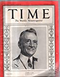 Time Magazine 1933 February 06 Carter Glass
