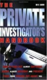Private Investigator's Handbook, Kevin Gavin and Kenneth Griffiths, 1842223763
