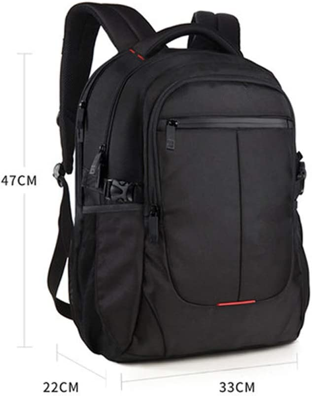 Color : E, Size : XL Laptop Backpack Mens Backpack Casual Large Capacity Travel Bag Junior High School Student Bag Backpack for School