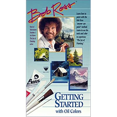 Weber Bob Ross Getting Started with Oil Colors [VHS]: Ross, Bob: Movies & TV