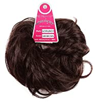 Tressecret Scrunchy Hair Accessory, Dark Brown