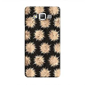Cover It Up - Sand Star Black Galaxy A5 Hard Case