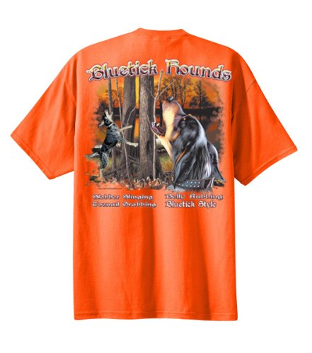 Orange Hounds (All American Outfitters Bluetick Hounds-Orange-XL)