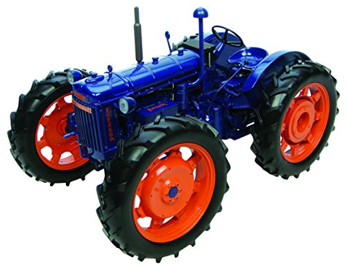 Used, Universal Hobbies Fordson Major E27N Roadless in Blue for sale  Delivered anywhere in USA