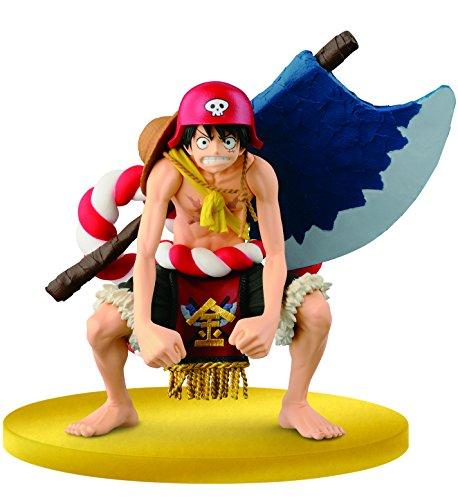 Banpresto - Figurine One Piece - Scultures Big - Champion 2015 Monkey.D.Luffy Film Gold - 3296580253029