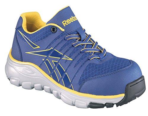 Reebok Women's Arion Work Purple Ankle-High Fabric Running Shoe - 6.5W