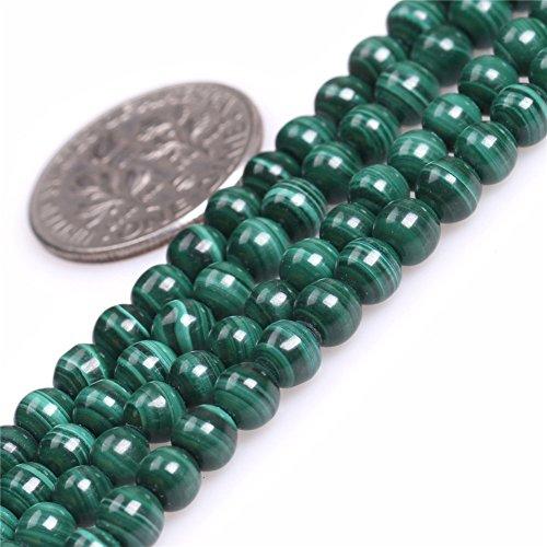 "Malachite Beads for Jewelry Making Natural Gemstone Semi Precious 3.5mm Round 15"" JOE FOREMAN"