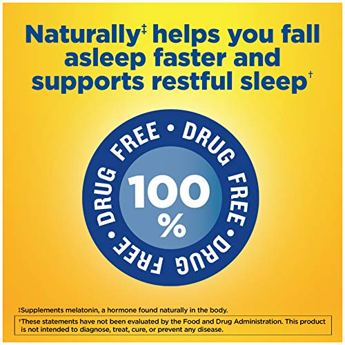 Nature Made Fast Dissolve Melatonin 10 mg Tablets, 300 Count for More Restful Sleep Support†