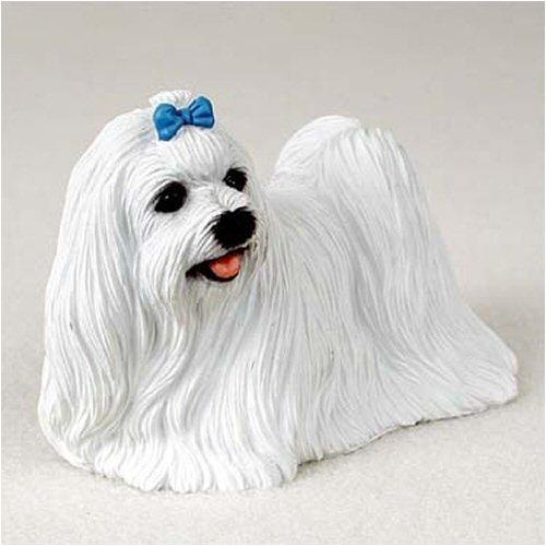 Maltese Dog Figurine (Maltese Original Dog Figurine (4in-5in))