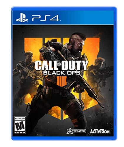 Amazon com: Call of Duty: Black Ops 4 - PlayStation 4 Standard