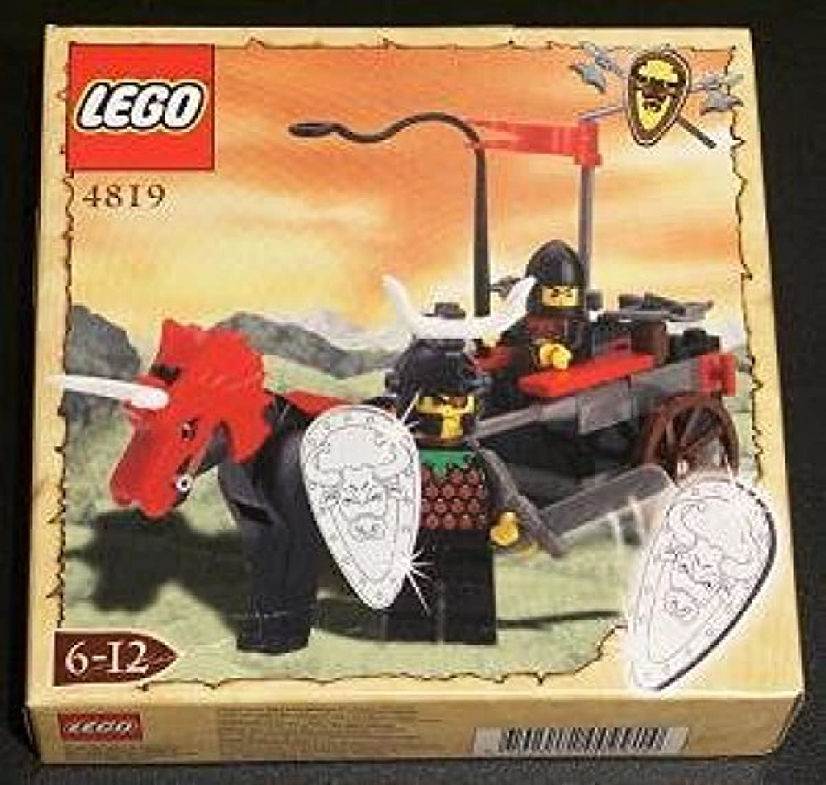 [해외] LEGO KNIGHTS' KINGDOM 4819 REBEL CHARIOT