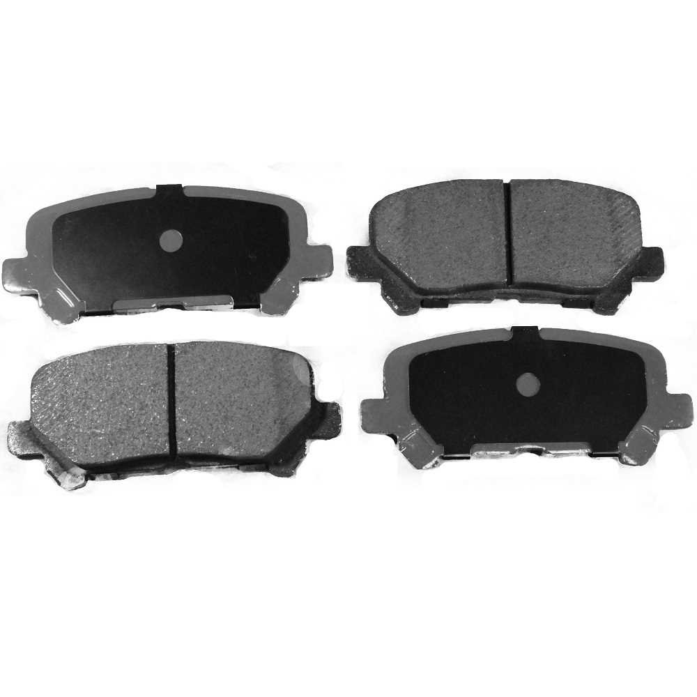 Prime Choice Auto Parts SCD1281 Rear Ceramic Brake Pad Set