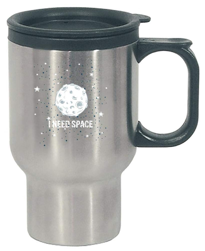 Funny Solar System - I Need Space - Universe - Stainless Steel Travel Mug