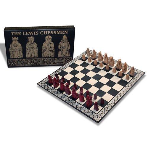 The Lewis Chessmen - Miniature Chess Set