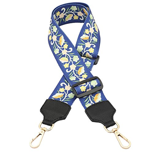28cm Crossbody Style Multicolor Replacement Strap for Handbags 06 Guitar Purse Strap 85cm Canvas Color q08nB