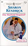 One Husband Required, Sharon Kendrick, 0373120230