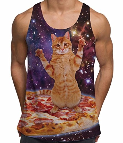 pizza-space-cat-all-over-print-mens-vest-small