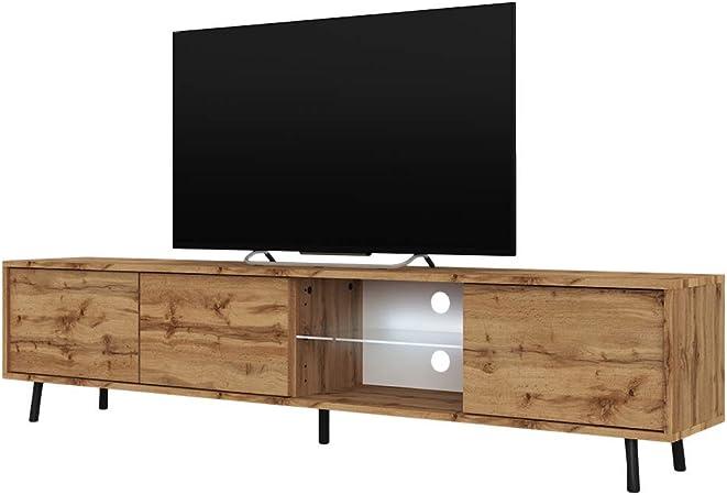 Selsey Wotan Mueble para Televisor Roble Mate, 175 x 31.3 x 40.5 cm: Amazon.es: Juguetes y juegos