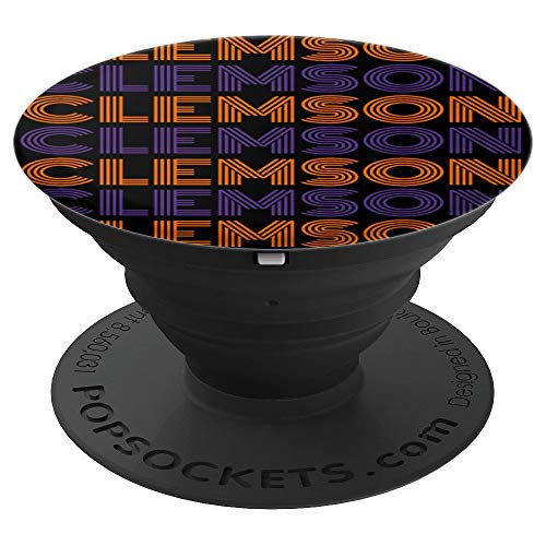 - City of Clemson South Carolina Fan Cool Sports Adults Kids - PopSockets Grip and Stand for Phones and Tablets