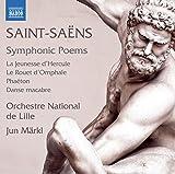 Camille Saint-Saëns: Symphonic Poems [Orchestre National de Lille; Jun Märkl] [Naxos: 8573745]
