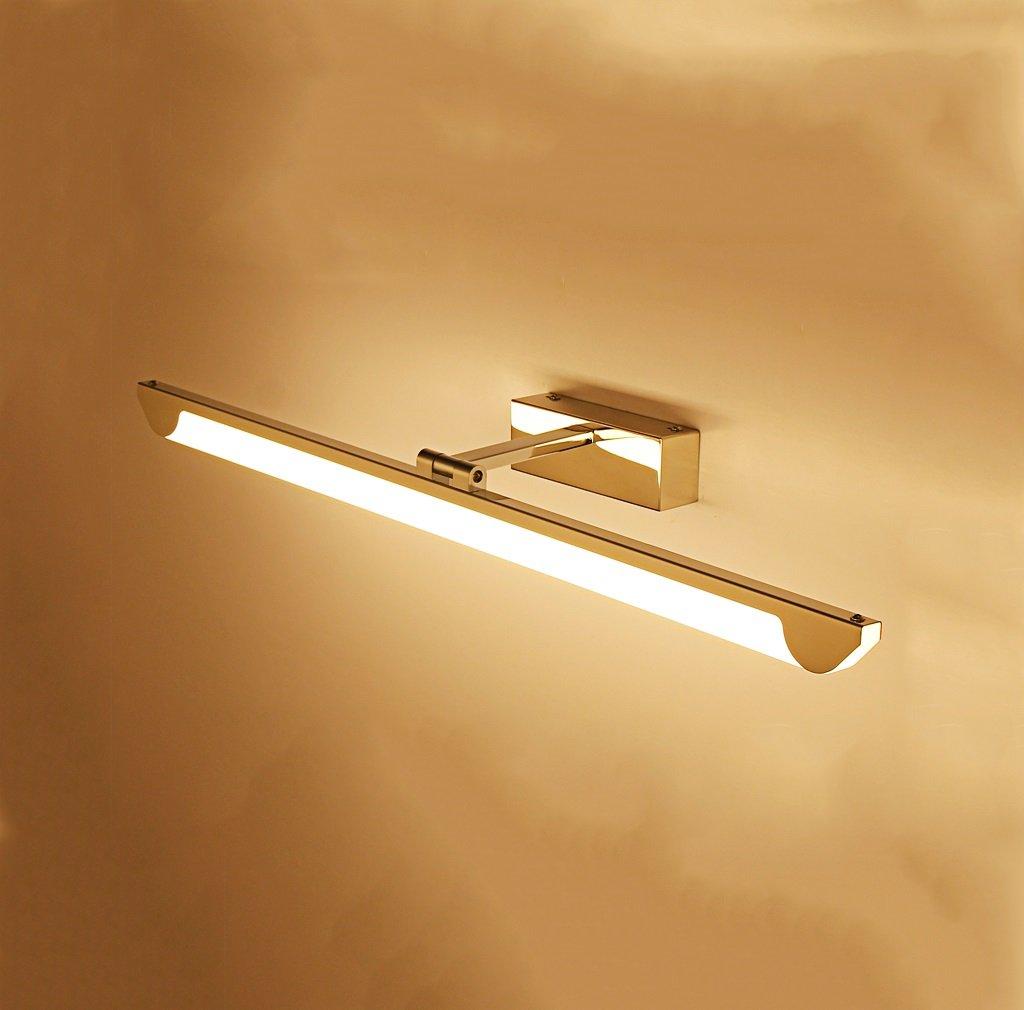 badezimmerlampe Spiegel-Front-Lampe führte Badezimmer-Badezimmer-Spiegel-Kabinett-Spiegel-Lampen-Verfassungs-Lampe Moderne Anti-Beschlag Wand-Lampe (Größe   43cm)